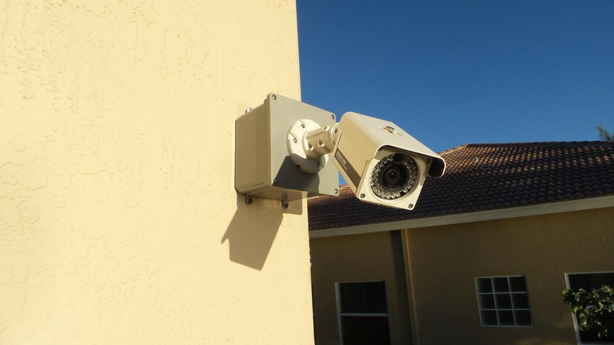 Установка видеонаблюдения3476822
