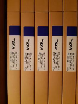 Медицинские рентгеновские пленки модели Super HR-U размеры: 15x30, 18x24, 24x30, 30x40, 35x35, 35x43; модели Super RX-N размеры: 18x24, 24x30, 30x40, 35x35, 35x434713956