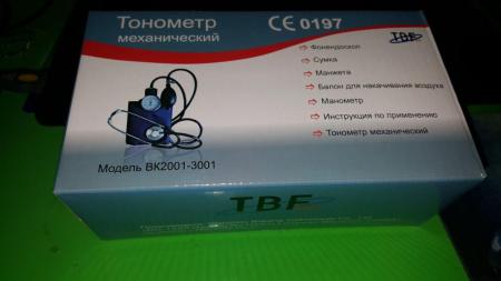 Тонометр механический TBF модель MC-50B с принадлежностями (Приложение)10343097