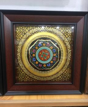 Сувенир с национальном орнаментом нанесённым логотипом12711185
